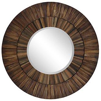 Shades Wood Mirror