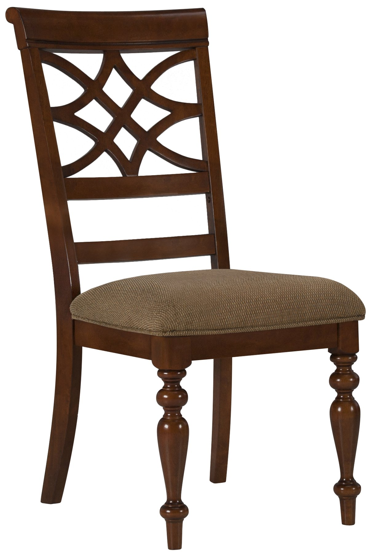 Oxford Mid Tone Wood Wood Side Chair
