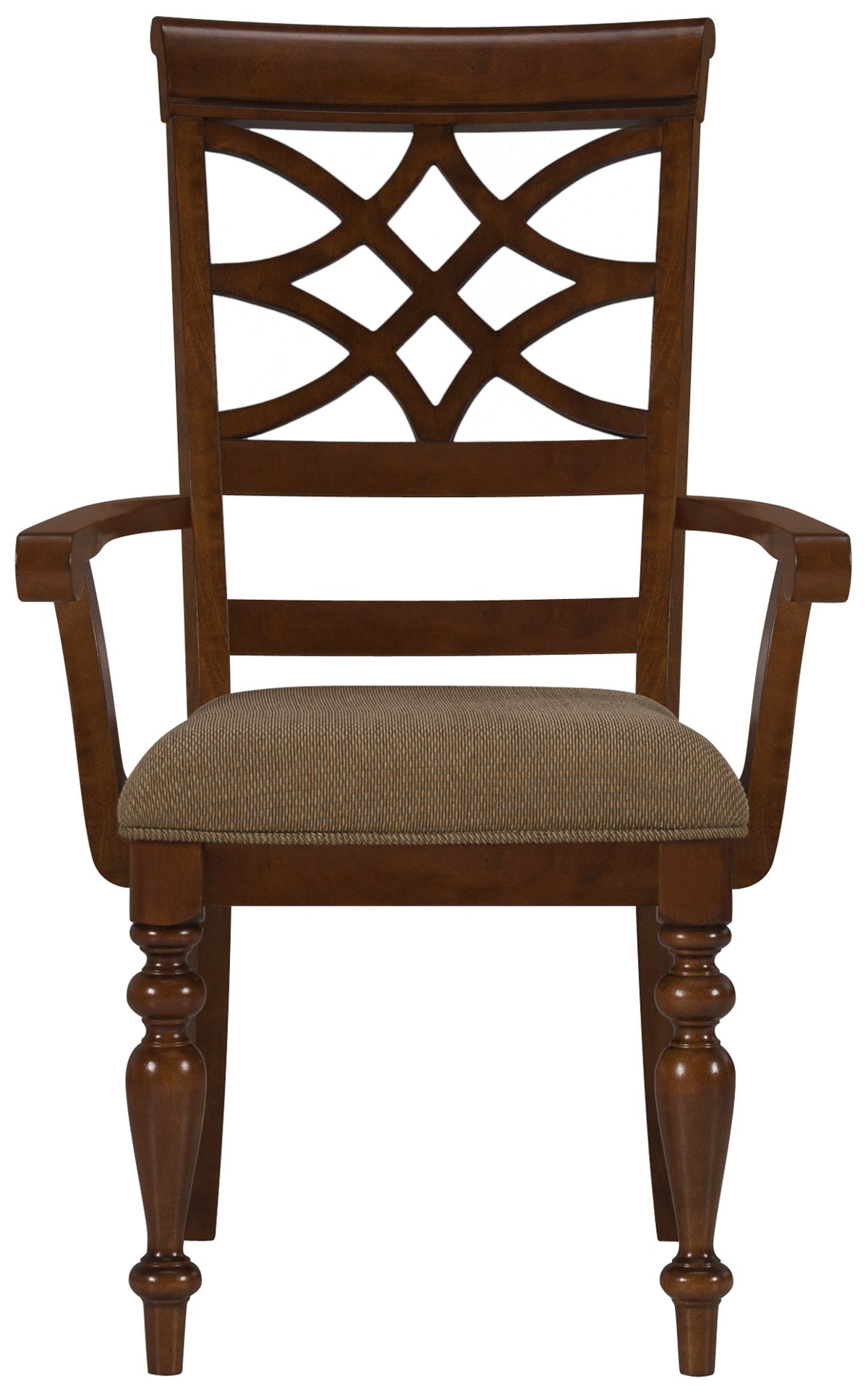 Oxford Mid Tone Wood Wood Arm Chair