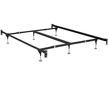Clamp Style 6-Leg Headboard & Footboard Frame
