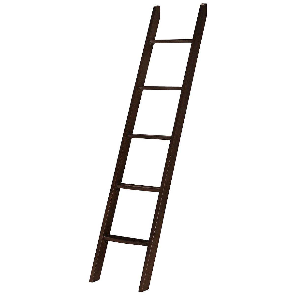 Liam Dark Tone Bunk Ladder & Guard