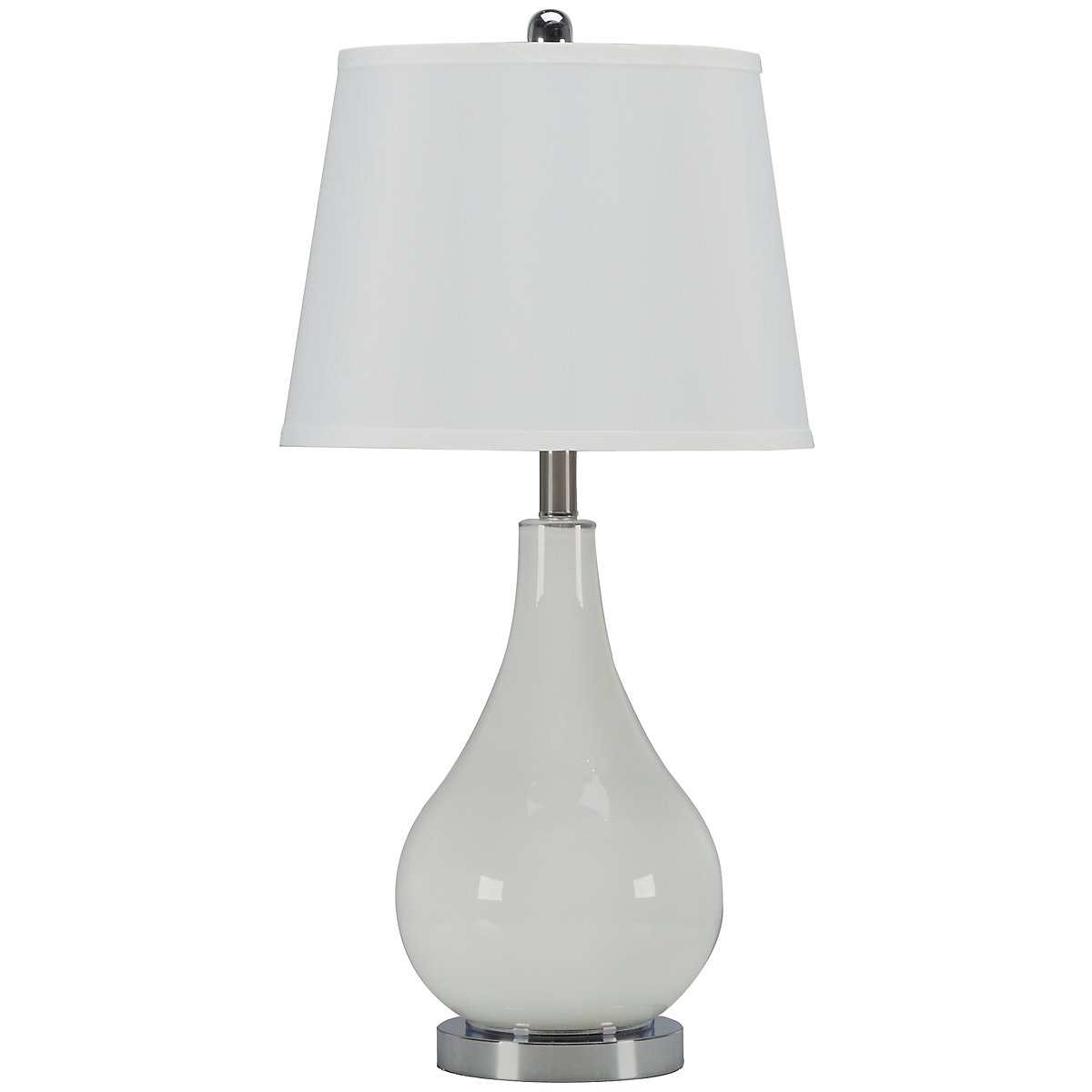 Britt White Table Lamp