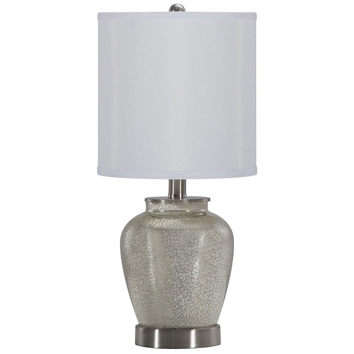 Bella Silver Table Lamp