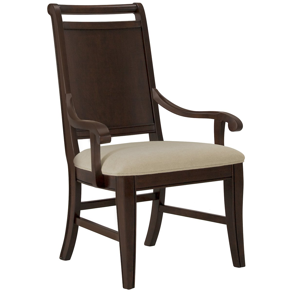 Canyon Dark Tone Wood Arm Chair