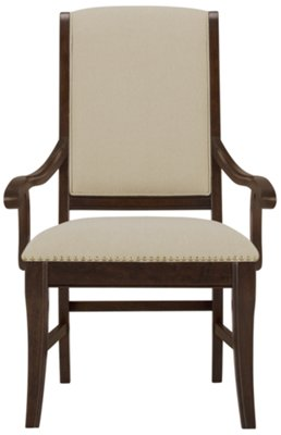 Canyon Dark Tone Upholstered Arm Chair. VIEW LARGER