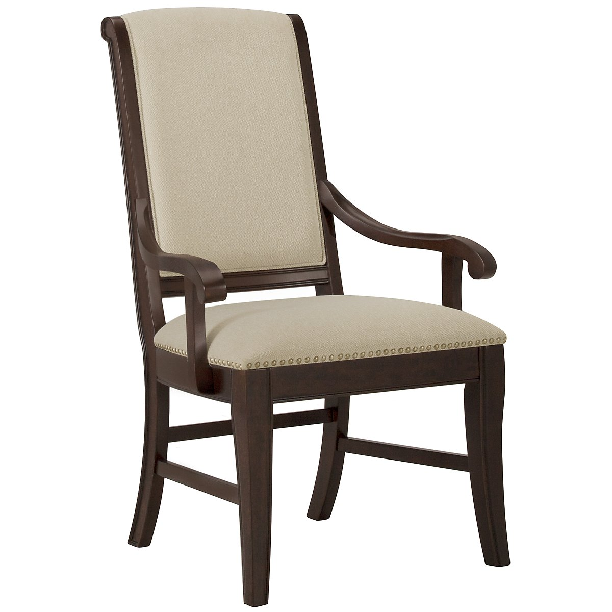Canyon Dark Tone Upholstered Arm Chair