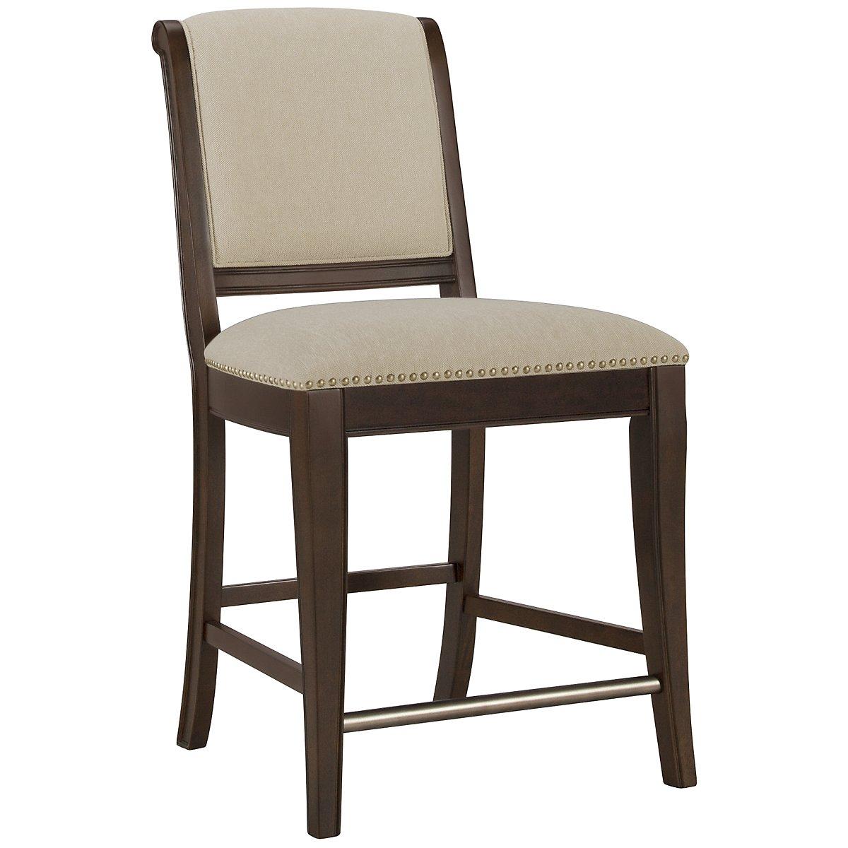 "Canyon Dark Tone 24"" Upholstered Barstool"