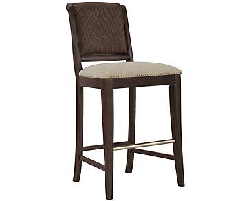 """Canyon Dark Tone 30"""" Woven Barstool"""