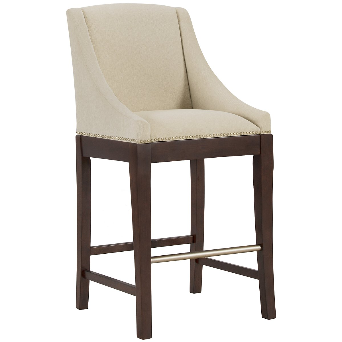 "Canyon2 Dark Tone 30"" Upholstered Barstool"