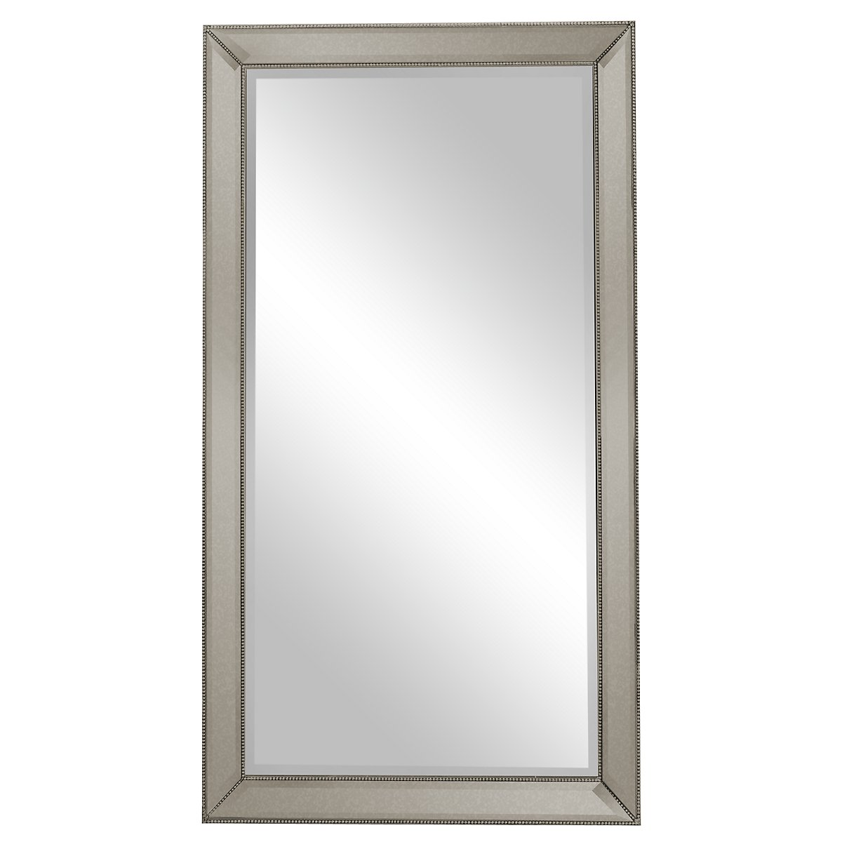 City Furniture: Adiva Silver Leaning Mirror