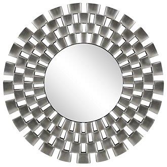 Checkers Silver Mirror