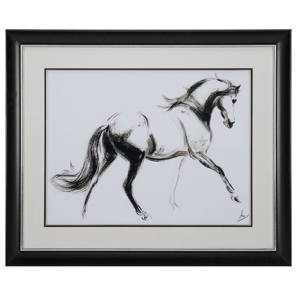 Full Horse Framed Wall Art