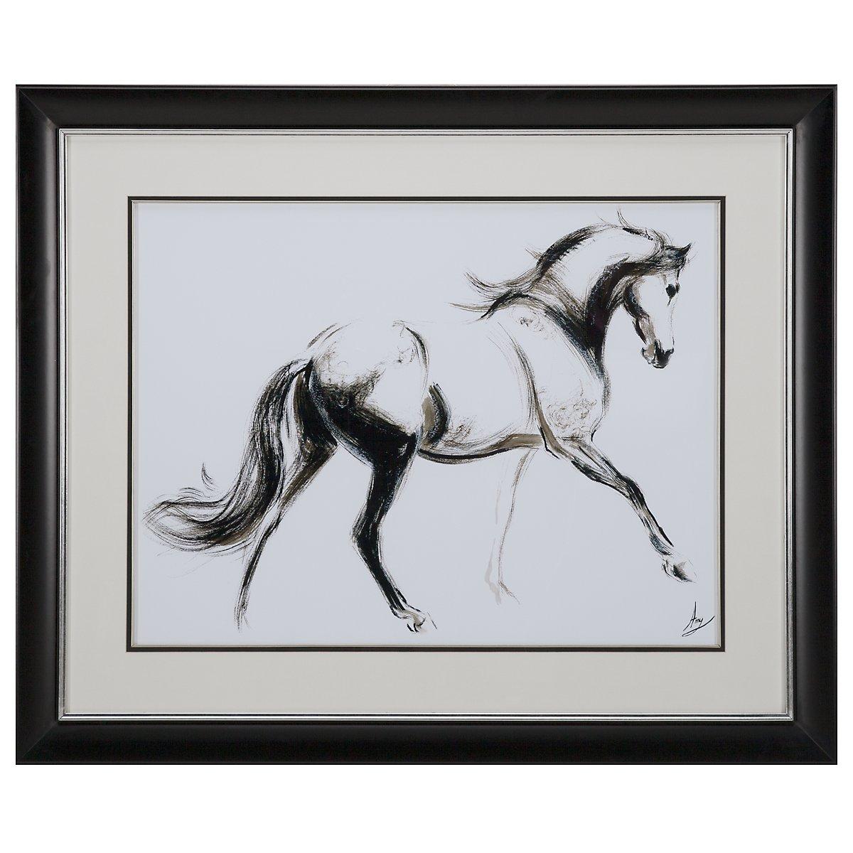 Full Horse Framed Wall Art