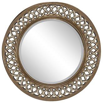 Spirals Gold Mirror