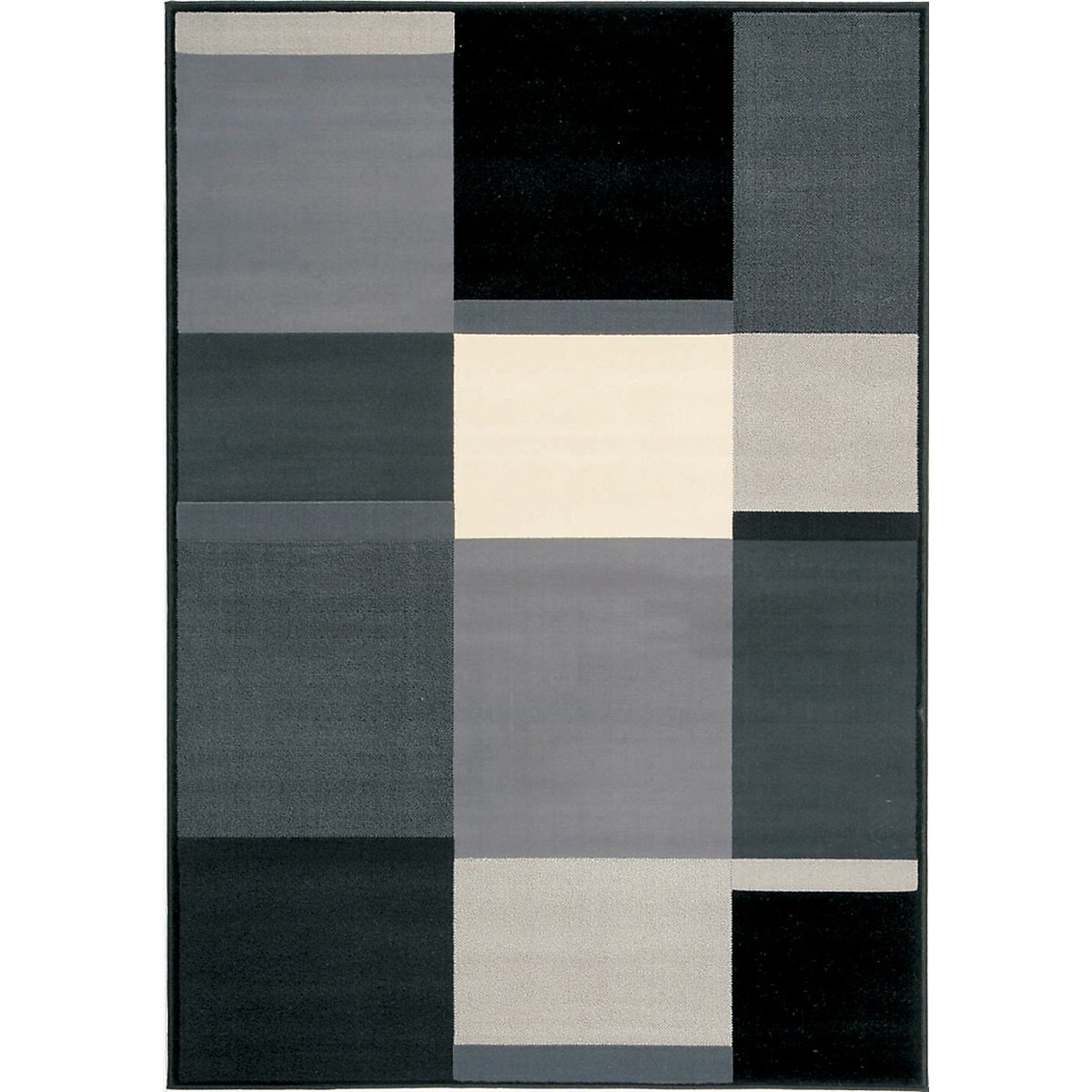 Ming Black 8X10 Area Rug