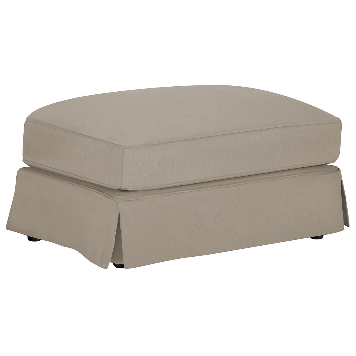 Levi Khaki Cotton Down Ottoman