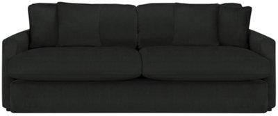 Tara2 Dark Gray Microfiber Living Room