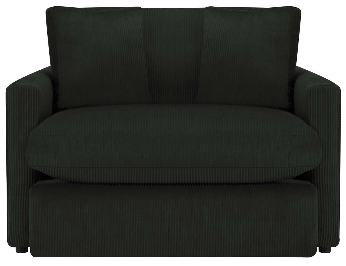 Tara2 Dark Gray Microfiber Chair