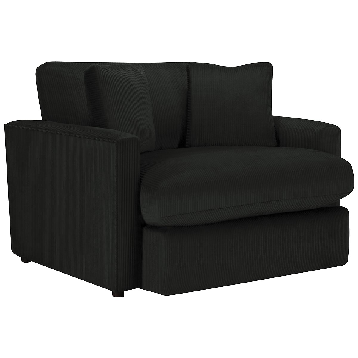 Tara2 Dark Gray Microfiber Chair
