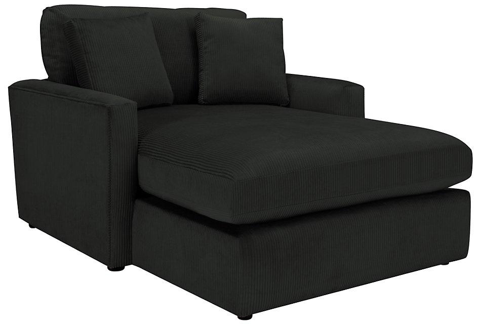 Tara2 Dark Gray  Micro Chaise