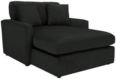 Tara2 Dark Gray Microfiber Chaise  sc 1 st  City Furniture : microfiber chaise lounge - Sectionals, Sofas & Couches