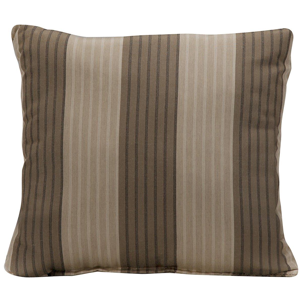 """Elliot Stripe 16"""" Indoor/Outdoor Accent Pillow"""