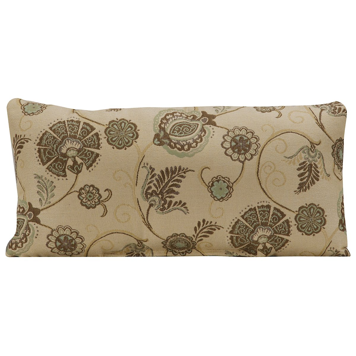 "Camile Multicolored 26"" Indoor/Outdoor Rectangular Accent Pillow"