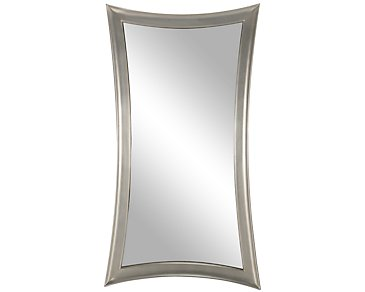 City furniture zander silver mirror for Zander credit protection