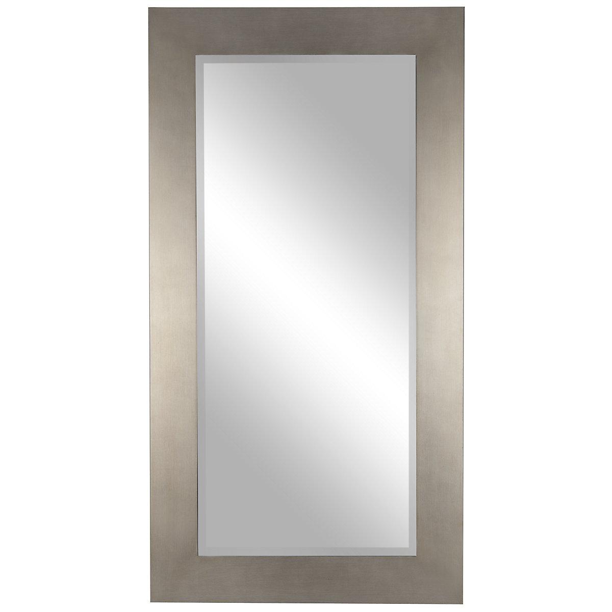 Shea Silver Floor Mirror