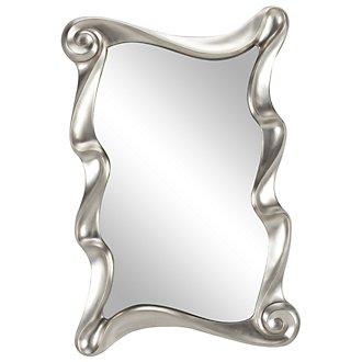 Bryn Silver Mirror