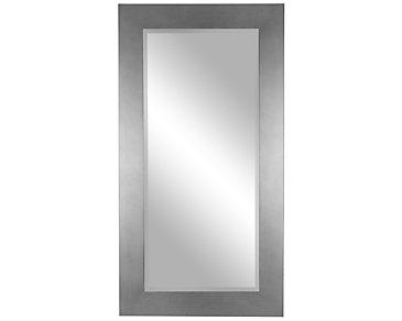 Meesha Silver Floor Mirror