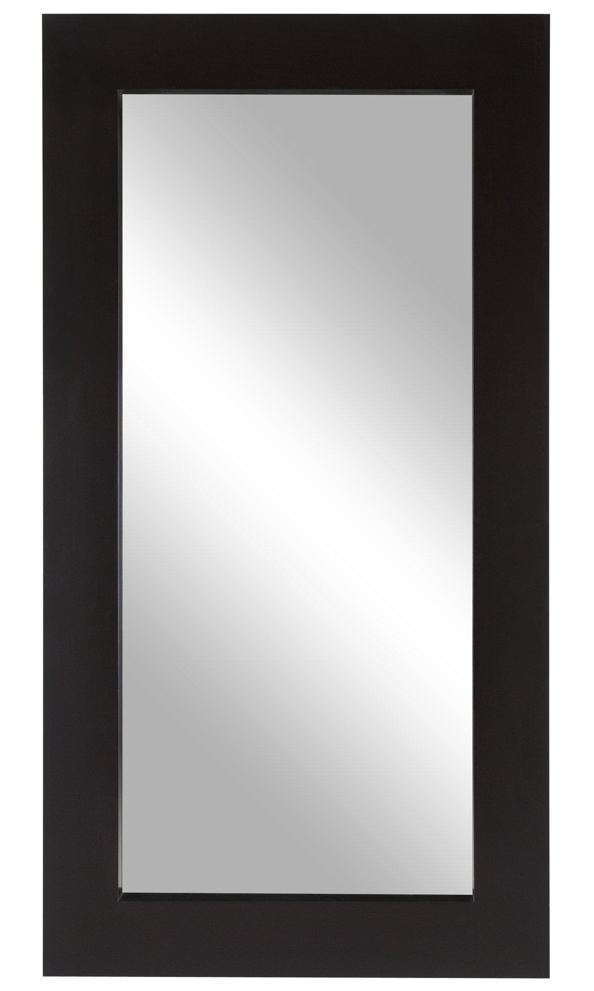 Meesha Dark Brown Floor Mirror