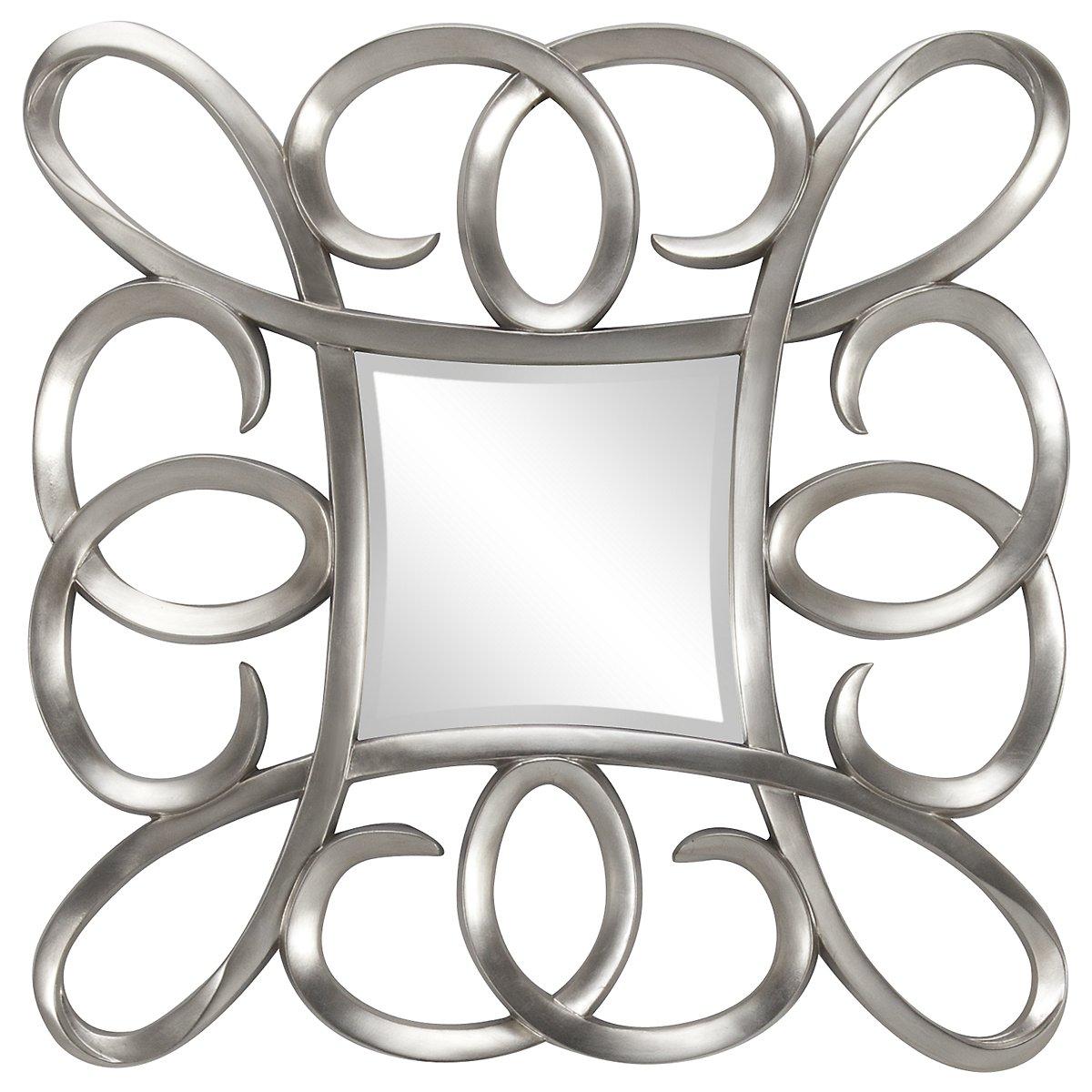 Laila Silver Mirror