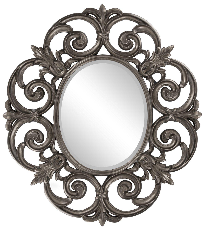 Irina Pewter Mirror