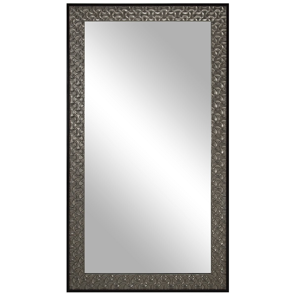 Kayson Silver Floor Mirror