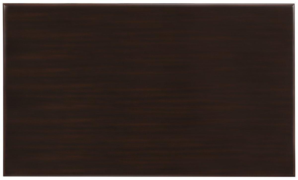 Bayberry Dark Tone Wood Rectangular Table