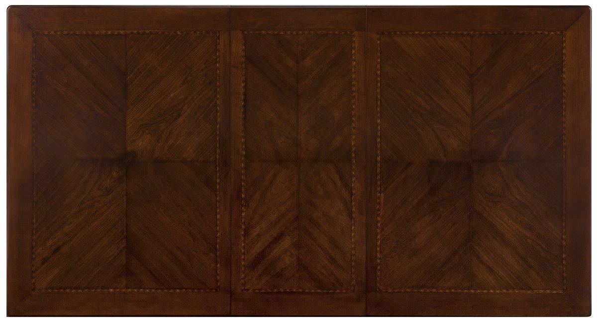 Oxford Mid Tone Wood Rectangular Table