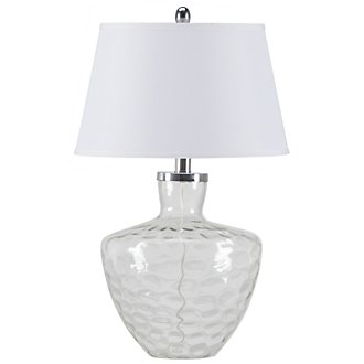 Cascade Clear Table Lamp