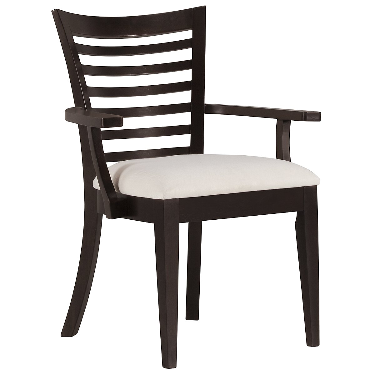 Sanibel Dark Tone Wood Arm Chair