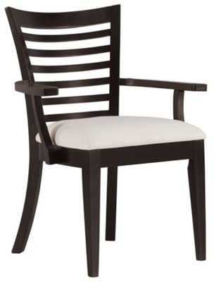 Sanibel Dark Tone Wood Arm Chair