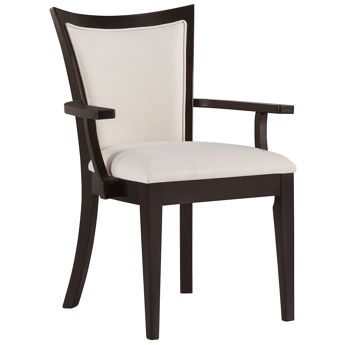 Sanibel Dark Tone Upholstered Arm Chair