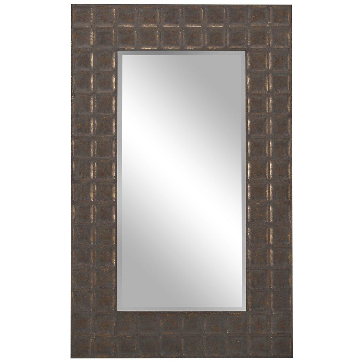 Gavino Gold Floor Mirror