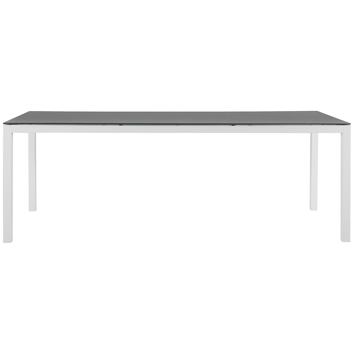 "Lisbon Gray 86"" Rectangular Table"