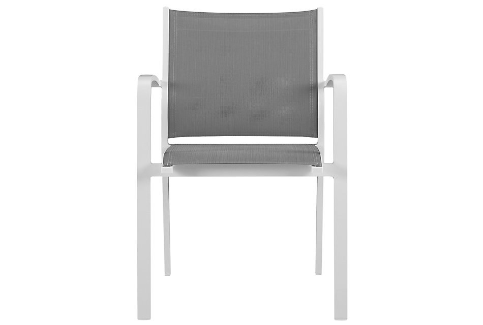 Lisbon Gray  Sling Chair