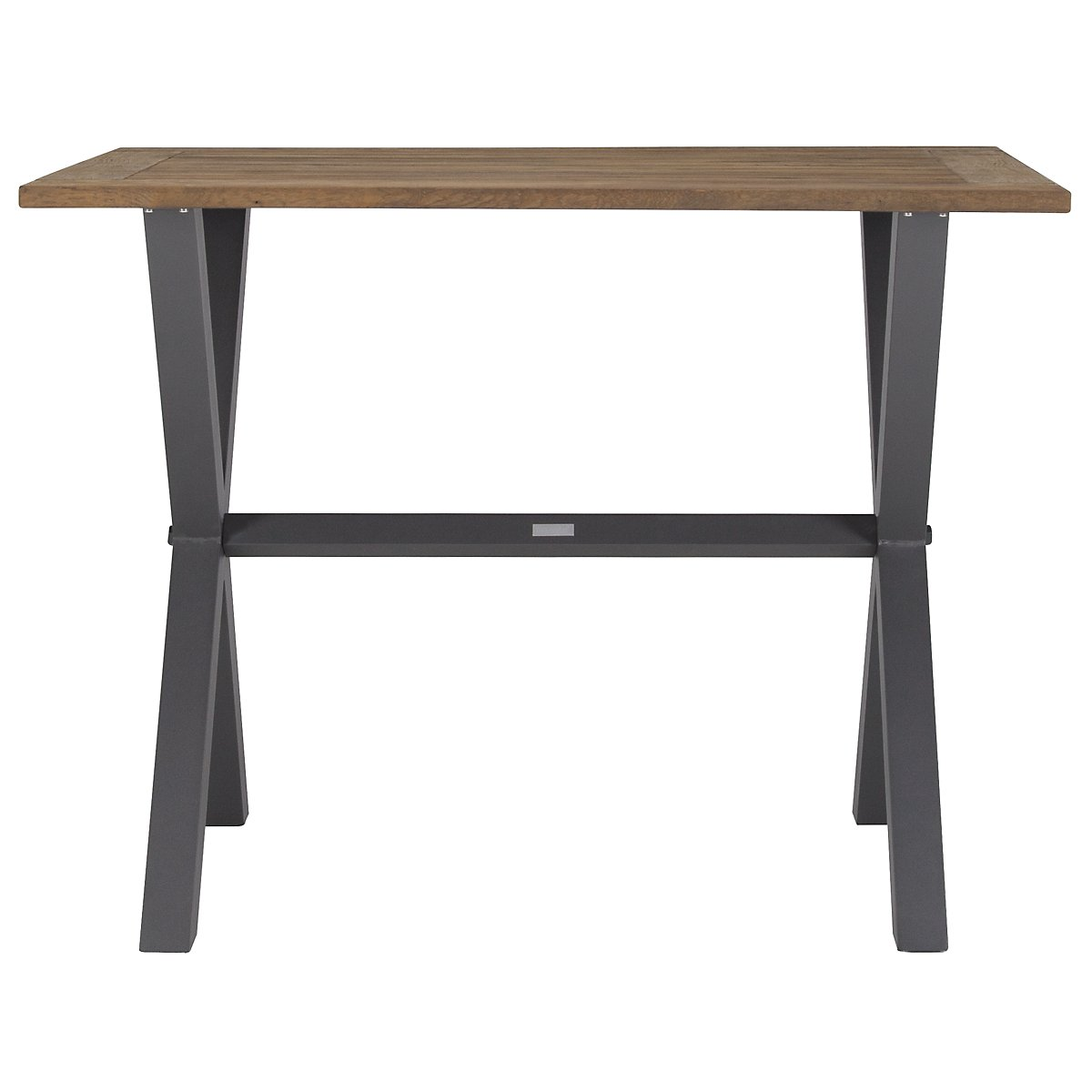 "Canyon Dark Tone Teak 54"" Pub Table"