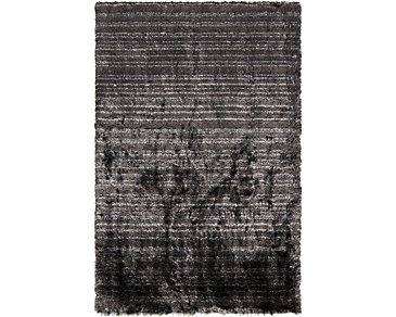Merlot Dark Gray 5X8 Area Rug