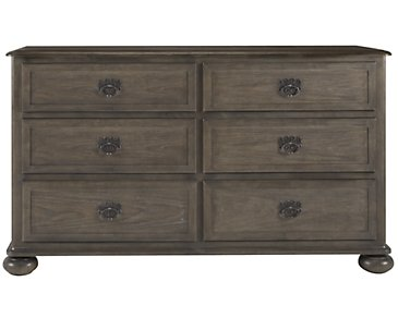 Belgian Oak Light Tone Dresser
