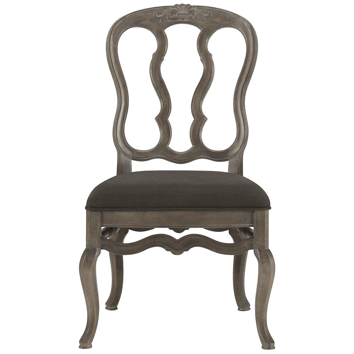 Belgian Oak Light Tone Wood Wood Side Chair