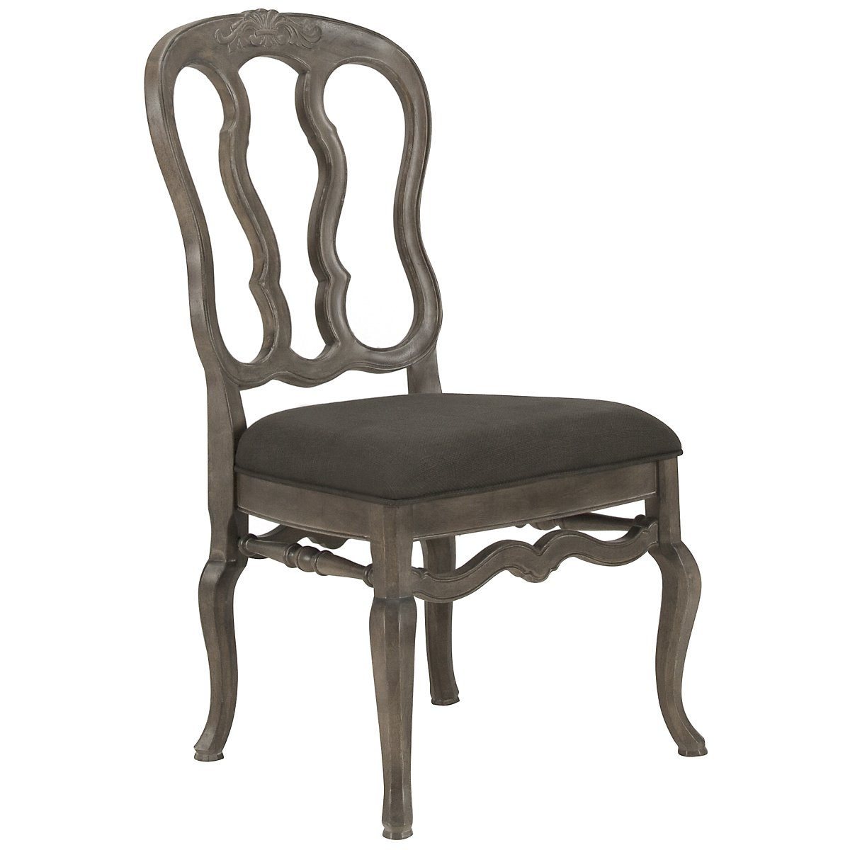Belgian Oak Light Tone Wood Side Chair
