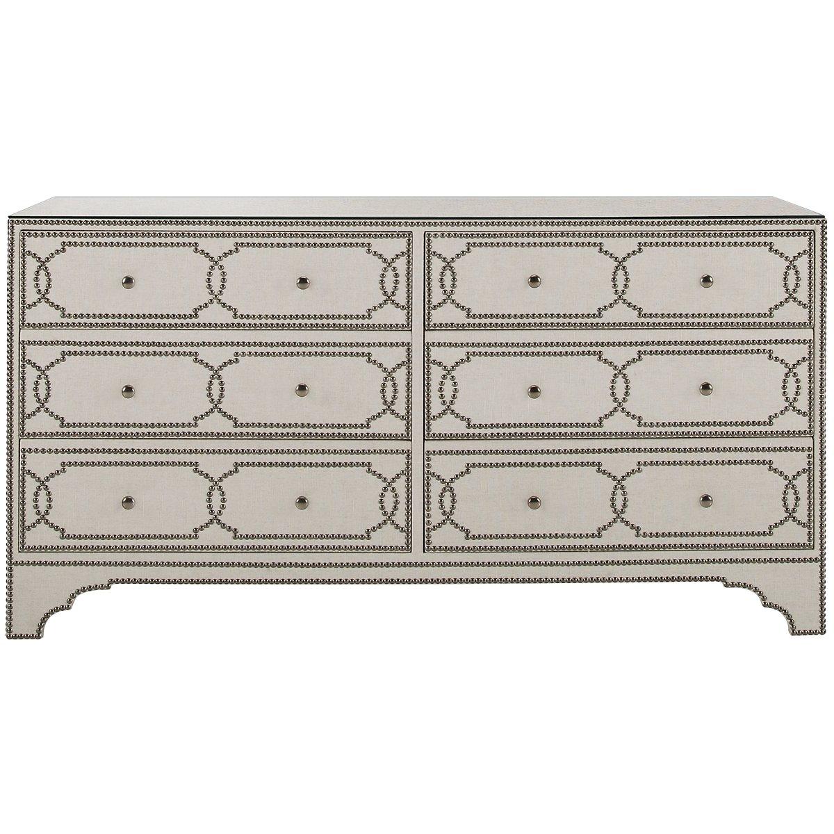 Cabrillo Light Beige Linen Dresser
